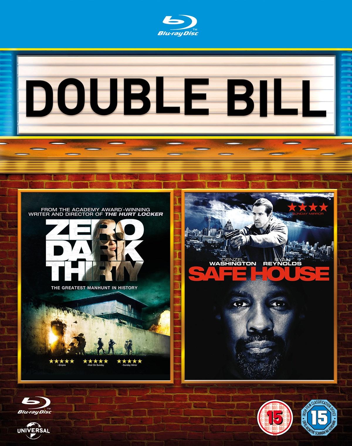 Zero Dark Thirty & Safe House (2x Blu-ray) für 5,55€ inkl. Versand (Zoom UK)