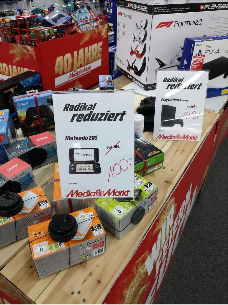 [Lokal] Nintendo 2DS XL (verschiedene Modelle) im Media Markt Mannheim-Neckarau