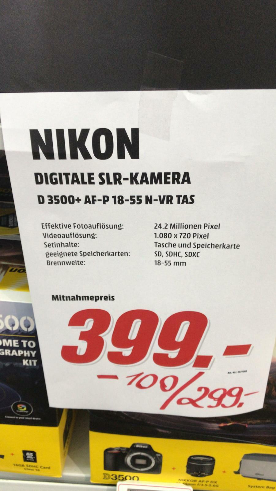 Nikon D3500 Lokal Mediamarkt Weiterstadt
