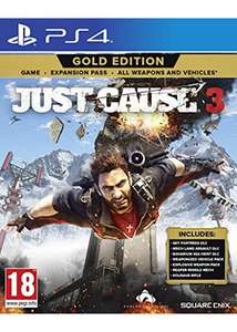 Just Cause 3 Gold Edition (PS4) für 14,66€ (Base.com)