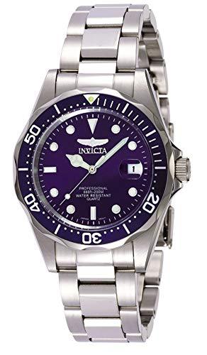 Invicta 9204 Pro Diver Unisex Uhr Edelstahl Quarz blauen ZifferblatAMAZON