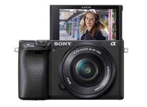Sony Alpha 6400 Kit 16-50 mm schwarz bei Amazon.es