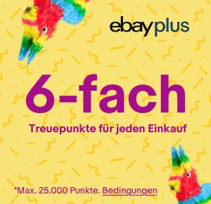 [eBay Plus] 6-fach Treuepunkte für jeden Einkauf