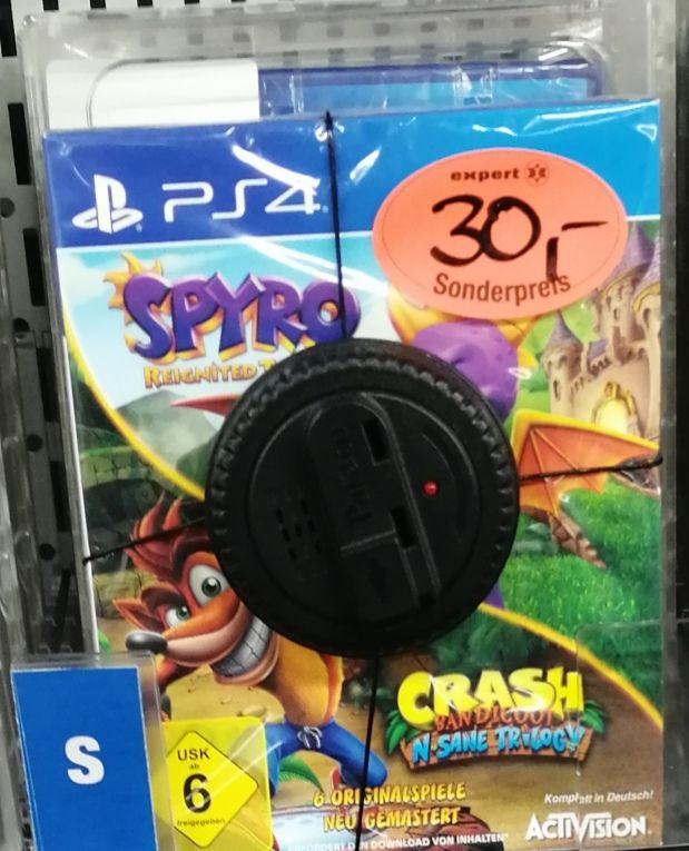 Spyro: Reignited Trilogy + Crash Bandicoot: N-Sane Trilogy (PS4) [Lokal Ibbenbüren]