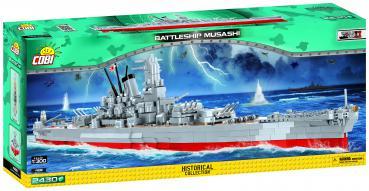 Vorbestellung: Cobi Historical Collection - World War 2 - 4811: Schlachtschiff Musashi / Battleship Musashi