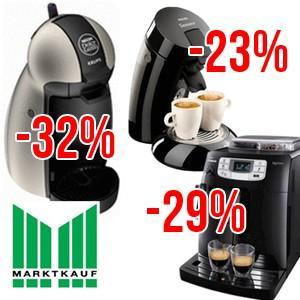 [LOKAL Marktkauf] Dolce Gusto Piccolo -32%, Senseo HD7810 -23%, Saeco HD8751 -29%