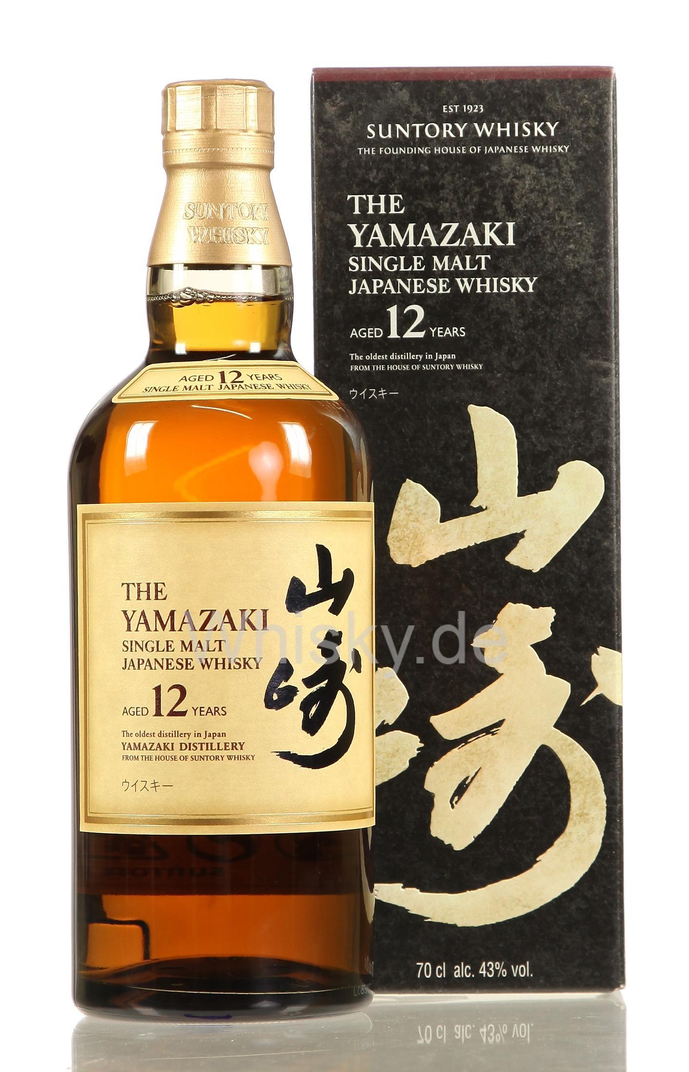Suntory Yamazaki 12 Jahre 43% japanischer Whisky (Whisky.de) Whiskey