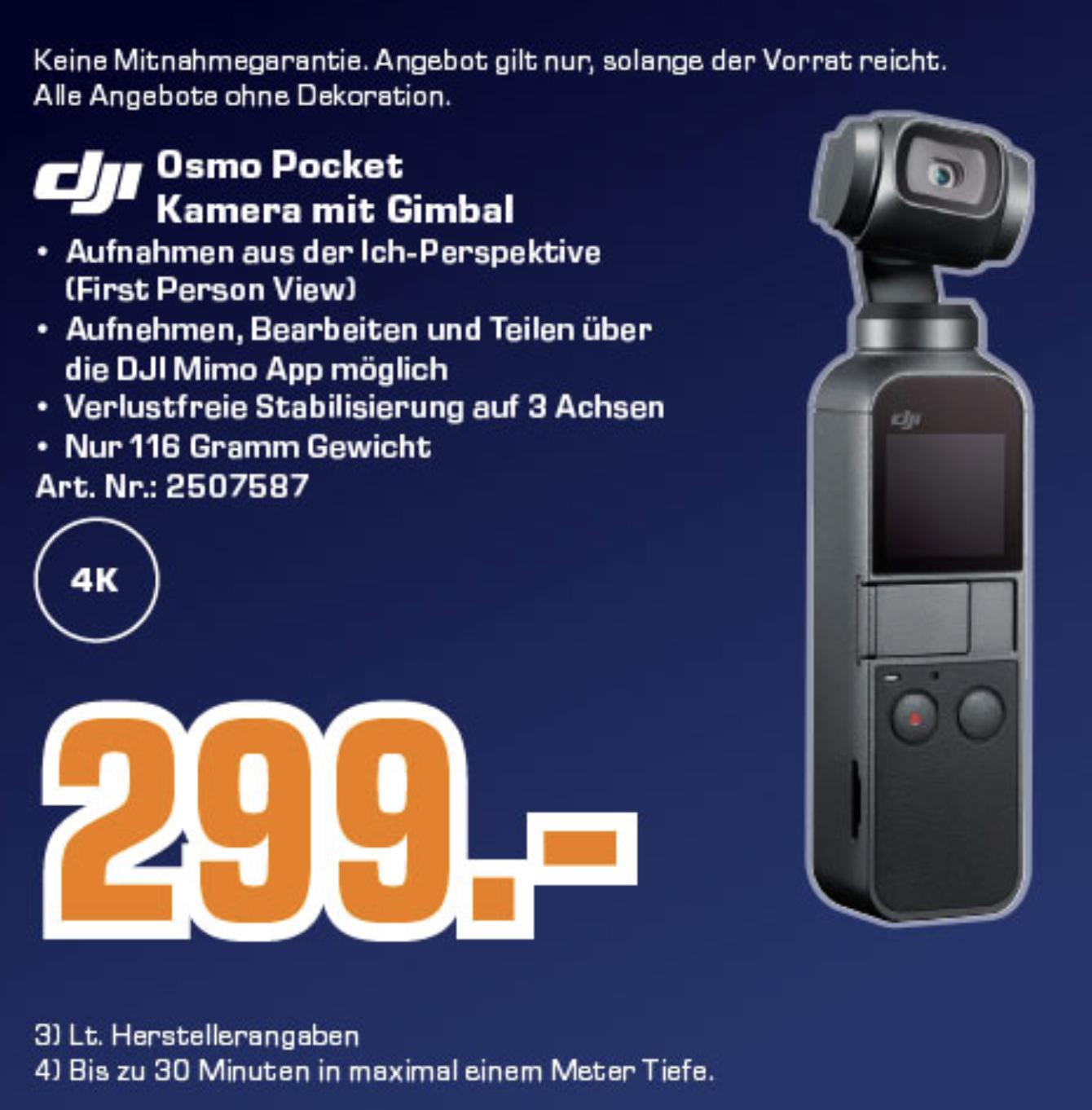 [Regional Saturn] DJI Osmo Pocket