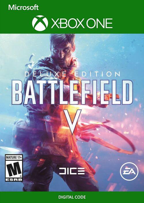Battlefield V Deluxe Edition (Xbox One) für 17,19€ (CDkeys)