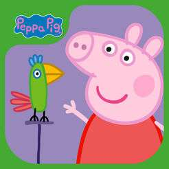 Peppa Pig: Polly Papagei kostenlos im AppStore (iOS + Android)
