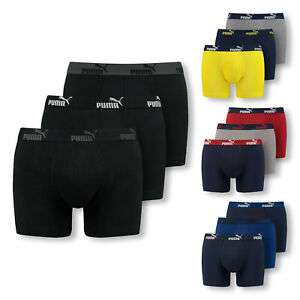 [Ebay] 6er Pack PUMA Boxershorts Unterhosen Shorts Promo Boxer S M L XL Farbwahl