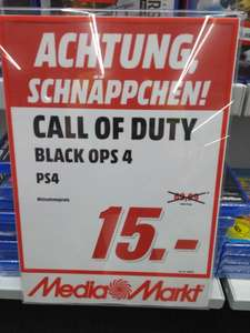 PS4 Call of Duty - Black Ops 4 (Regional Media Markt Buchholz)