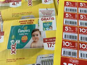 Netto MD - Pampers Baby Dry im Angebot