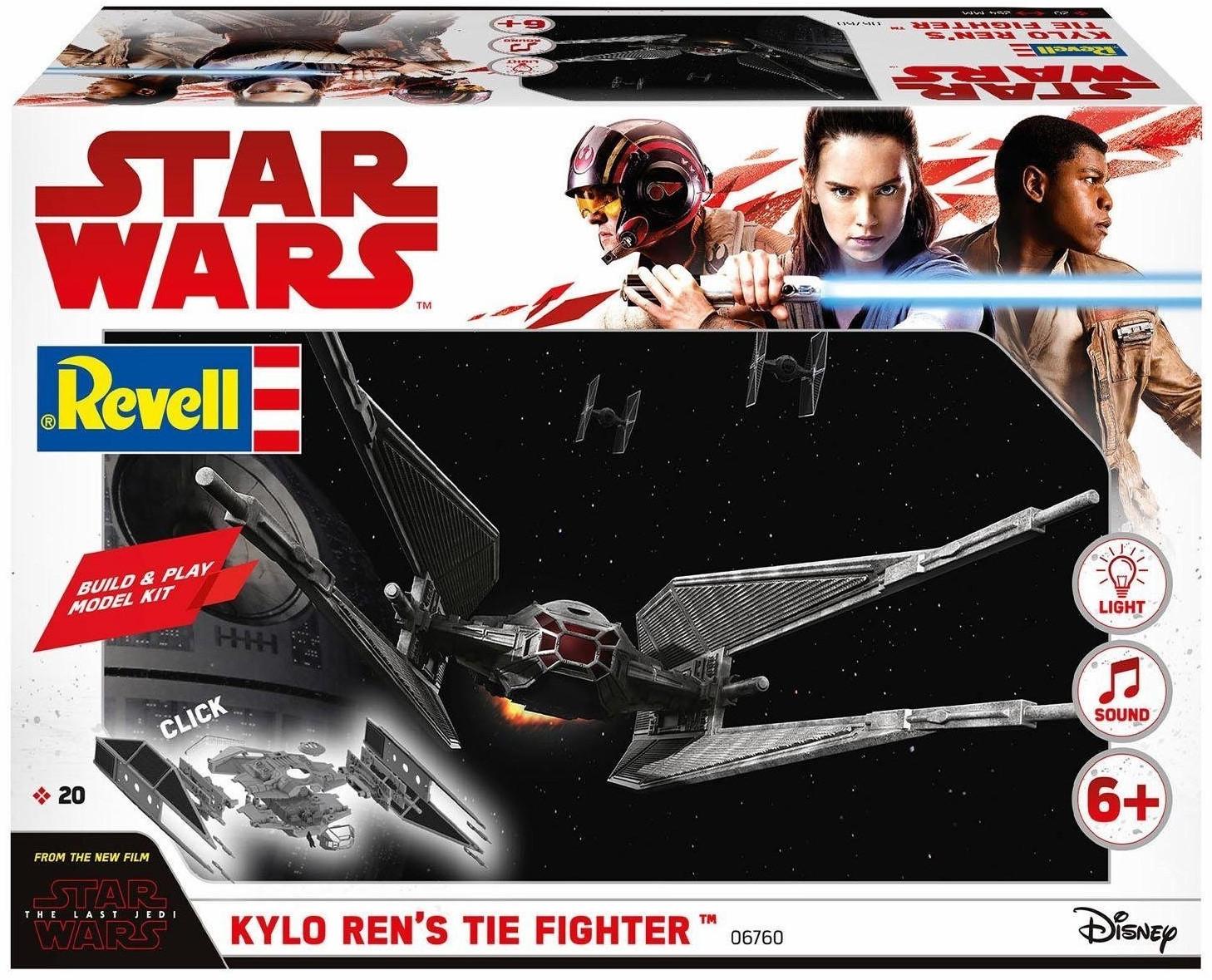 Revell Build & Play Kylo Ren's TIE Fighter Bausatz (06760) für 7€ (Saturn)