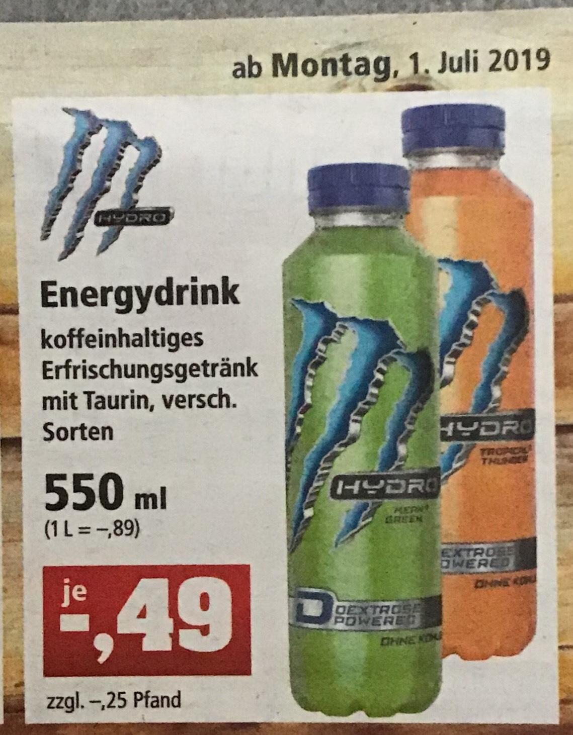 (Thomas Philipps) Monster Energy Hydro für 0,49€