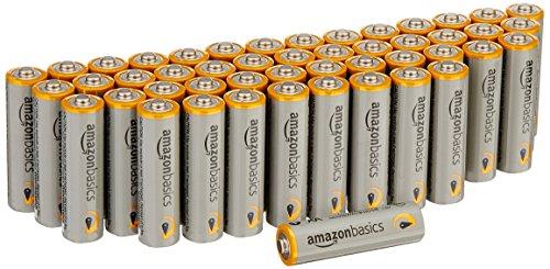 [Amazon Prime Sparabo] amazonbasics - 48 Stück Alkali Batterien - AA Mignon R6