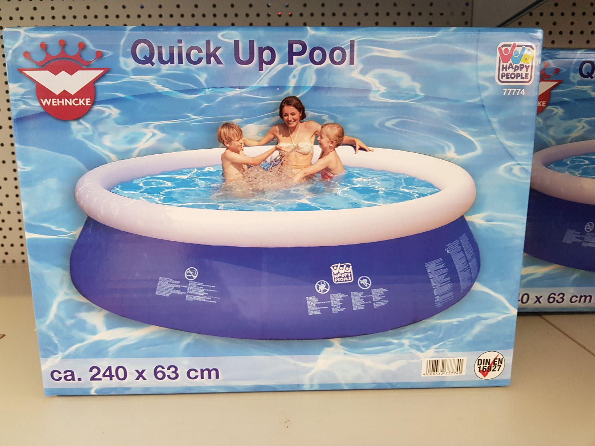*lokal* Quick up Pool 240x63 cm Hagebaumarkt Feucht (evtl. in allen Märkten)