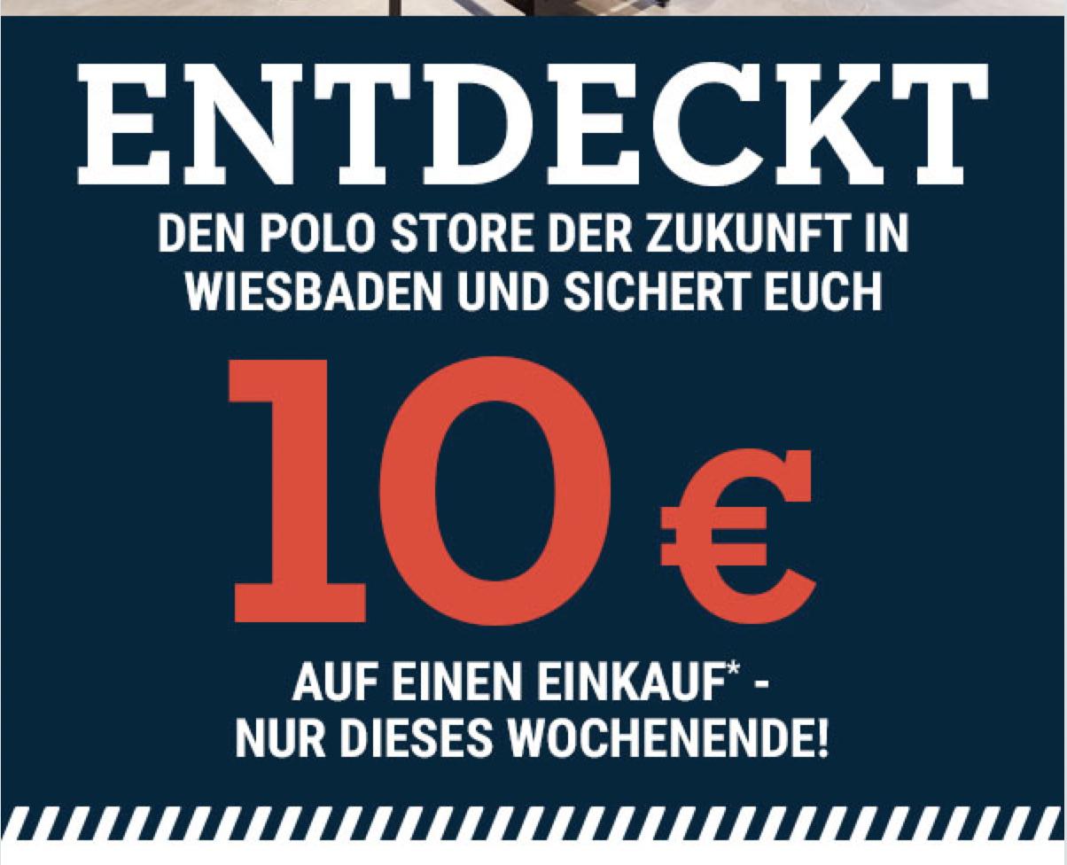 Polo Motorrad: 10 Euro Rabatt ab 10 Euro MBW nur in Wiesbaden / Freebies möglich