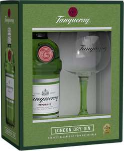 Tanqueray London Dry Gin 0,7l 47,3% + Copa Glas bei [Real.de] mit Marktanlieferung