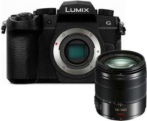 Panasonic Lumix DC-G90 MFT Systemkamera inkl. Kit 14-140mm