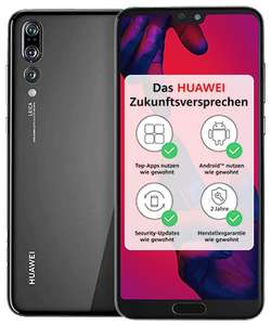 Huawei P20 128GB Dual Sim (midnight black / blau) [Saturn / MediaMarkt]