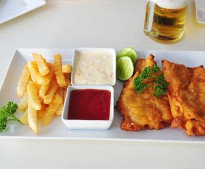 Lokal: Fish & Chips + Getränk für 2 Personen für 9€ @Fischbrötchen König Hamburg