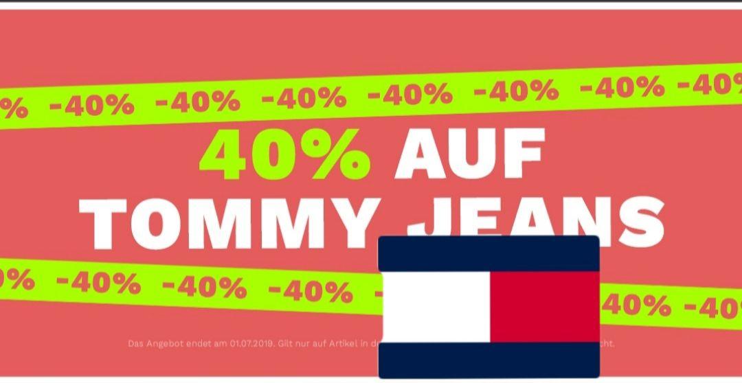40% auf Tommy Jeans bei Defshop  Tagesangebot