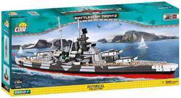 Cobi 4809 - Battleship Tirpitz oder Bismarck @Thalia