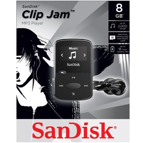 SanDisk Clip JAM 8GB für 25,74€ @ Mymemory