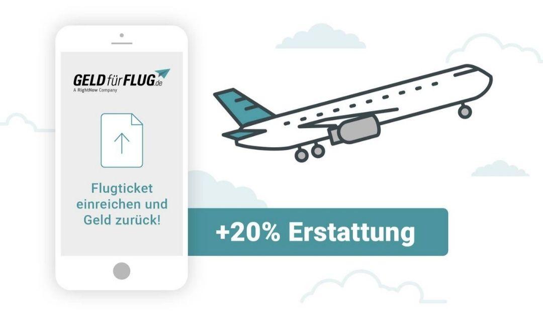 [Groupon - GeldfürFlug ] 20% zusätzlich für ungenutzte Flüge zurück erhalten