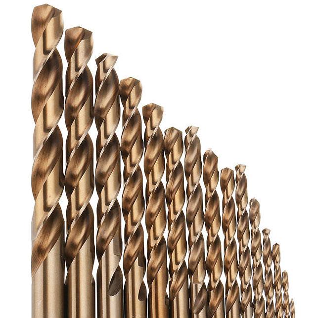 15 Stück Kobalt-HSS-Bohrer 1,5-10mm