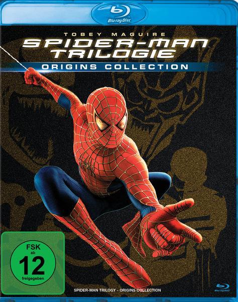 Spider-Man Trilogie (Origins Collection) (Blu-ray) für 7,67€ (Thalia)
