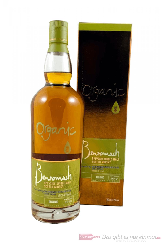 Benromach Organic Speyside Single Malt Scotch Whisky bei Dasgibtesnureinmal.de