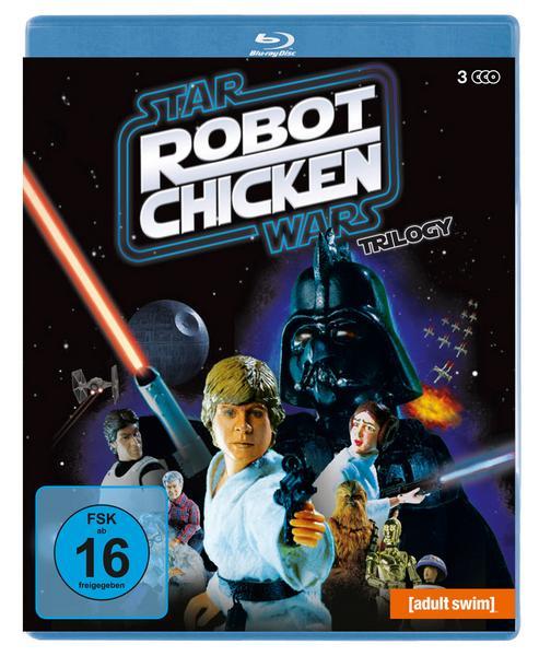 Robot Chicken: Star Wars Trilogie (3 Discs Blu-ray) für 7,11€ (Thalia)