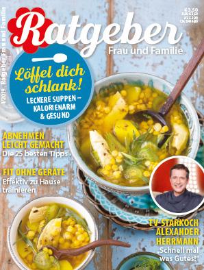 """Ratgeberzeitschrift """"FRAU & FAMILIE - MAGAZIN"""" jetzt 6 Monate gratis lesen - Kündigung notwendig"""