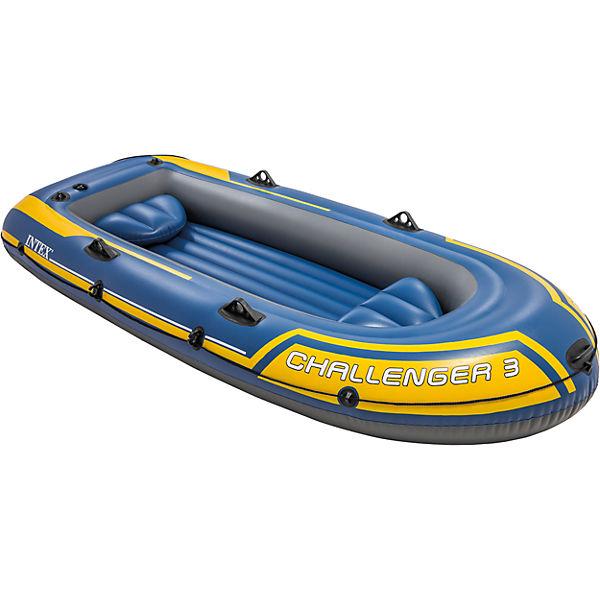Intex Schlauchboot Challenger 3 Set, 4-tlg. und andere Boote, z.B. Seahawk [mytoys] (mit Gutschein, nur heute am 1.7.2019)