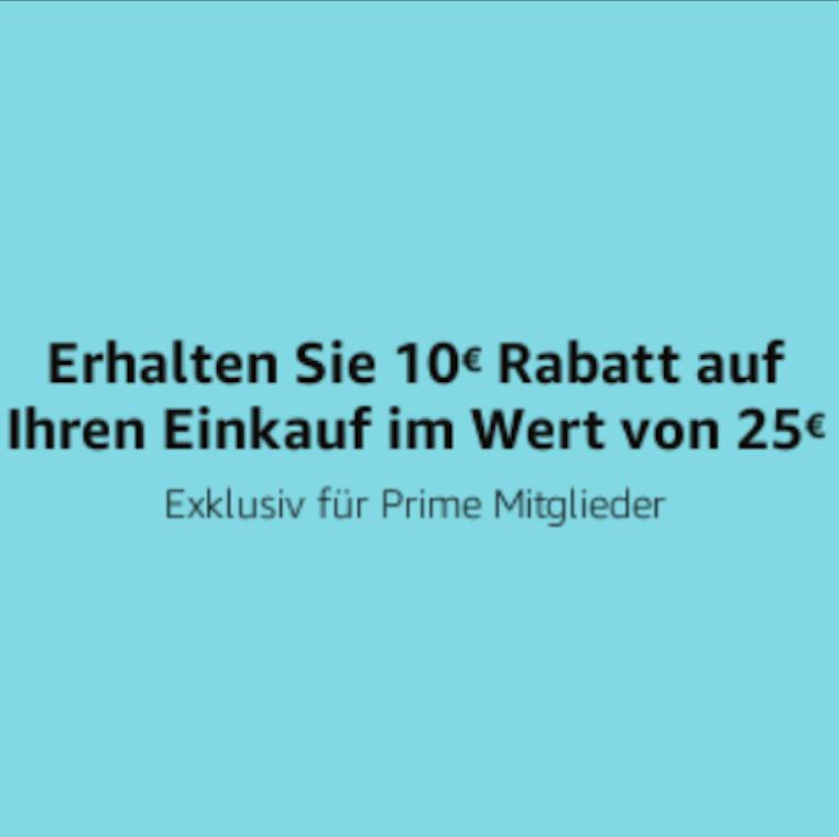 -10€ bei Bestellung über Amazon Assistant ab 25€ [Amazon Prime]