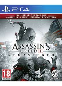 Assassin's Creed III Remastered (PS4) für 23,55€ (Base.com)