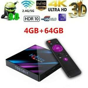 Android TV Box 9.0 H96 Max - 4GB, 64GO, 4K
