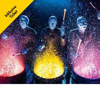 Blue Man Group Tickets für Berlin inklusive Übernachtung & Frühstück für 2 Personen für 118€