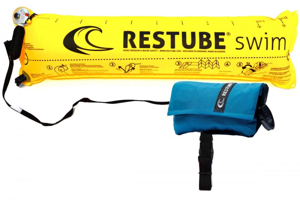 Restube Classic Rettungsboje für SUP Board, Surfboard, Schwimmen, Kajak, Kanu und Co plus Superpunkte