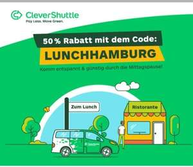 Clevershuttle *Lokal* Hamburg