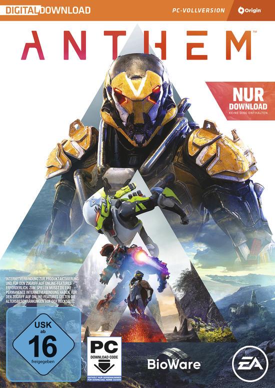 Anthem (PC Origin) für 14,99€ (GameStop & Amazon Prime)