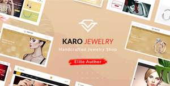 Karo | Handcrafted Jewelry WooCommerce WordPress Theme