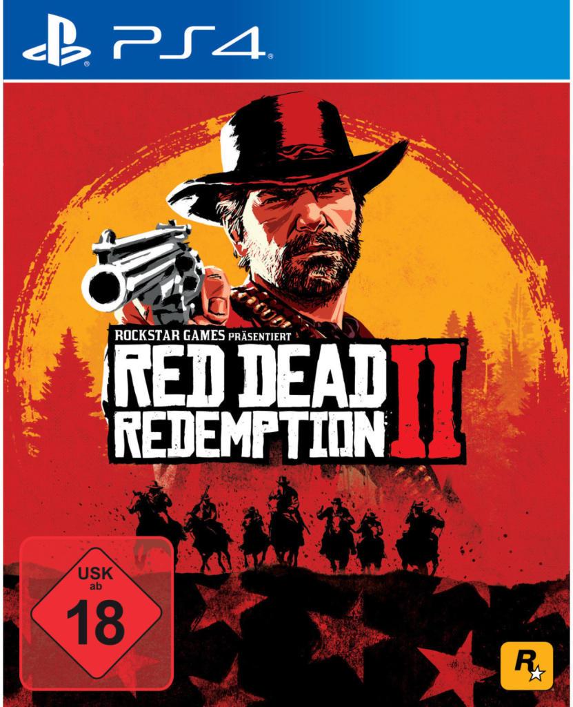 Red Dead Redemption 2 für PS4 für 23,20€ inkl. Versandkosten mit Füllartikel - [Rakuten Masterpass]