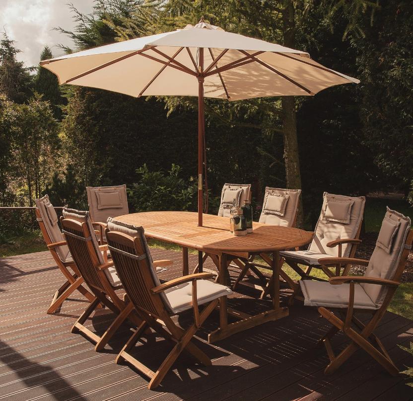 Sonnenschirm Toscana mit 270 cm Durchmesser