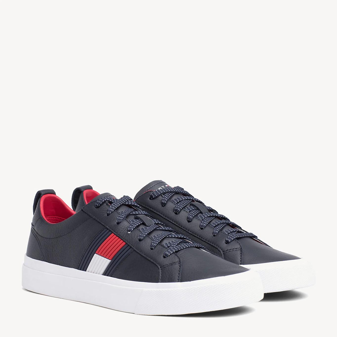 Hilfiger Schuhe im Sale Low-Top aus Leder