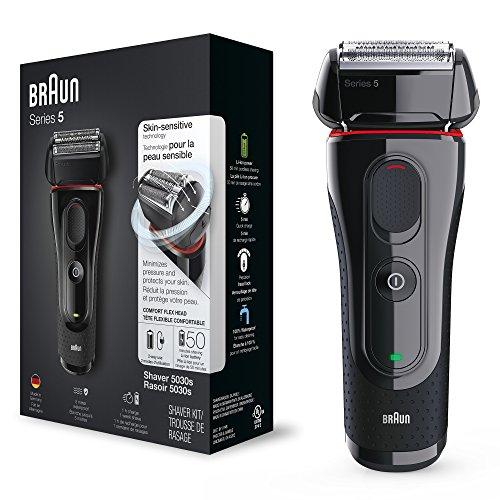 Braun Series 5 elektrischer Rasierer 5030s bei Amazon & Saturn - 10€ Cashbackaktion bei Braun