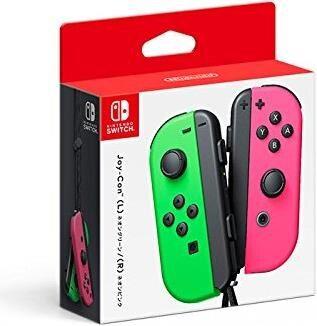 Nintendo Switch Joy-Con2er-Set neon-grün/neon-pink [Galaxus]