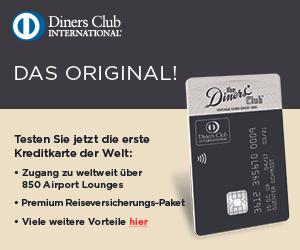 Diners Club Vintage im ersten Jahr kostenlos
